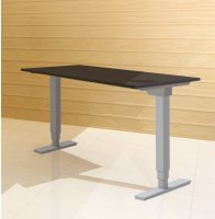 Complete height adjustable desk systems
