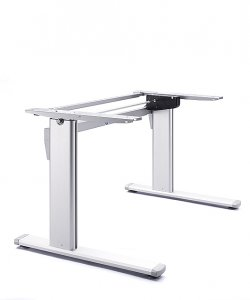 Electrically adjustable standing desk