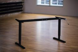 Height Adjustable Desk Ergo2Move Basic black (Steel)