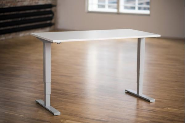 Height Adjustable Desk Ergo2Move Vertex3 silver-grey (Steel)